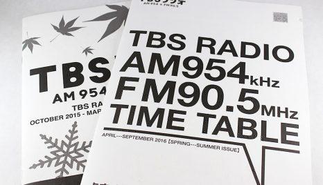 ラジオ番組表